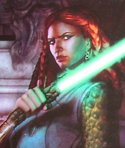 Tenel Ka in Legacy of the Force, Tempest, by Troy Denning