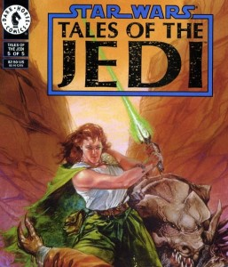 Tales of the Jedi had a huge impact on the Legends Expanded Universe