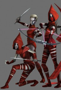 Nightsister Witches in  The Clone Wars TV show