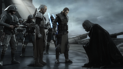 Vader captured by Kota and Starkiller