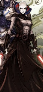 Ventress - nightsister and sith candidate