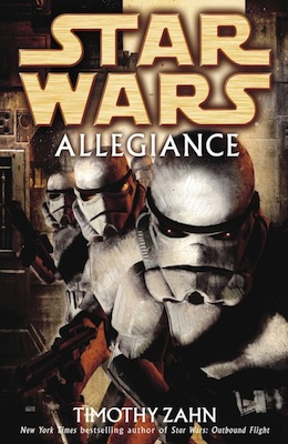 Star Wars Allegiance Book Cover
