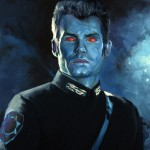 Outbound Flight, Thrawn, Art by Dave Seeley