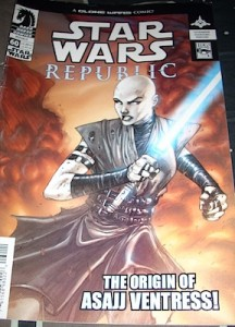 Asaaj Ventress origin story is first told in Dark Horse Comics republic series