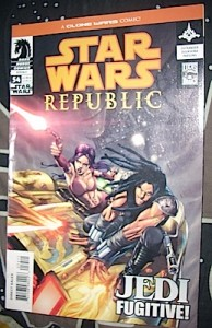 Quinlan and Khaleen in Dark Horse comics Republic Series