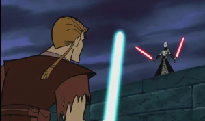 ventress vs anakin temple