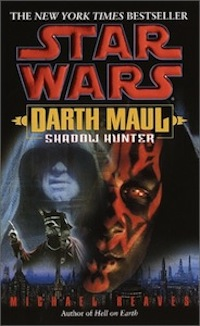 Darth Maul: Shadowhunter Book Cover