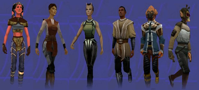 Jedi Academy Player Character Options
