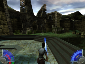 Jedi Academy Temple Training Area