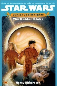 Junior Jedi Knights the Golden Globe we seen a device left by Exar Kun during Tales of the Jedi