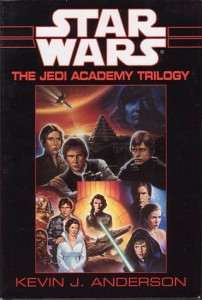 Jedi Academy by Kevin J. Anderson Luke Skywalker's first students have a run in with the spirit of Tales of the Jedi's Sith Exar Kun.