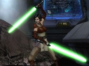 Serra Keto in Revenge of the Sith game