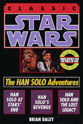 Han Solo Adventures Book Cover