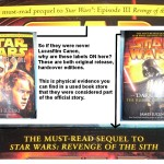 Prequel - Sequel on Novels related to Revenge of the Sith